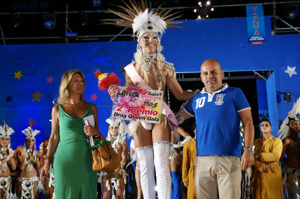Gay Pride Maspalomas 2012 Gran Canaria Diva Drag Gala 2012 Main