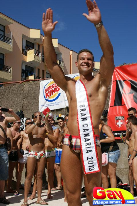 Mr. Gay Gran Canaria 2013 Winner