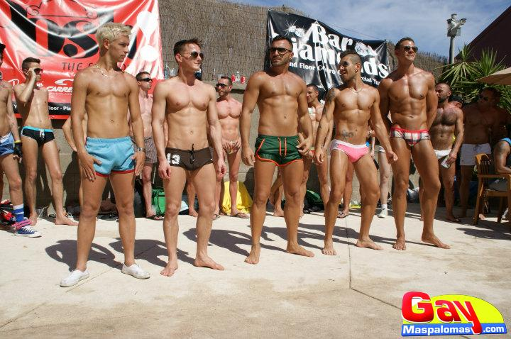 Mr. Gay Gran Canaria 2013 Top 5