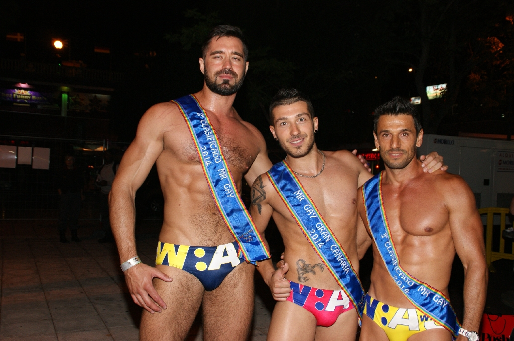 Mr. Gay Pride Gran Canaria 2014