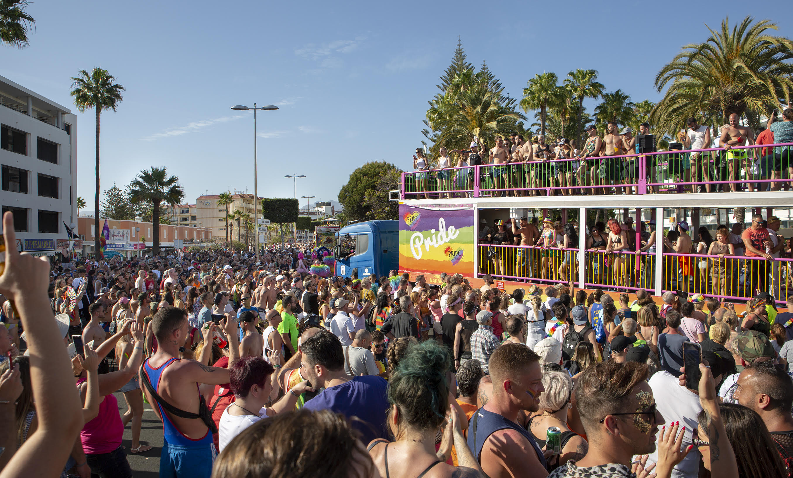 playa del ingles gay festival