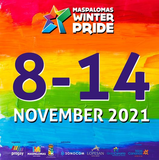 Winter pride maspalomas 2021