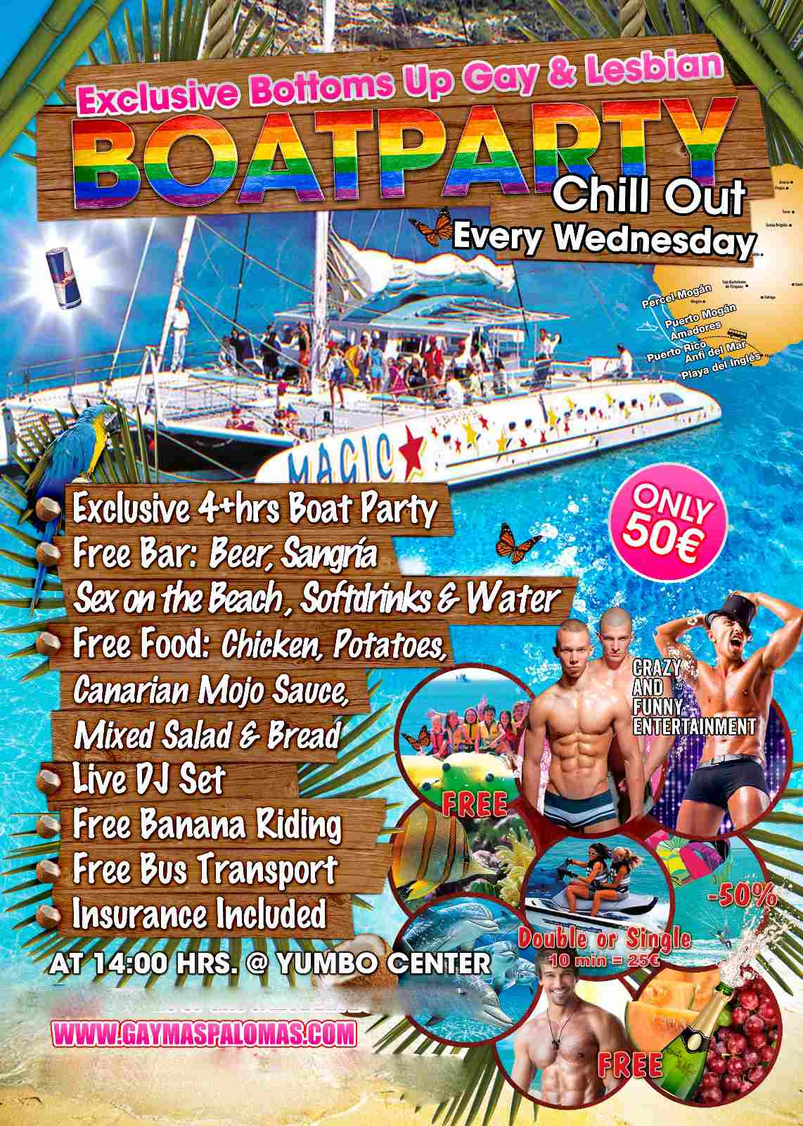 Gay Boat Party Gran Canaria