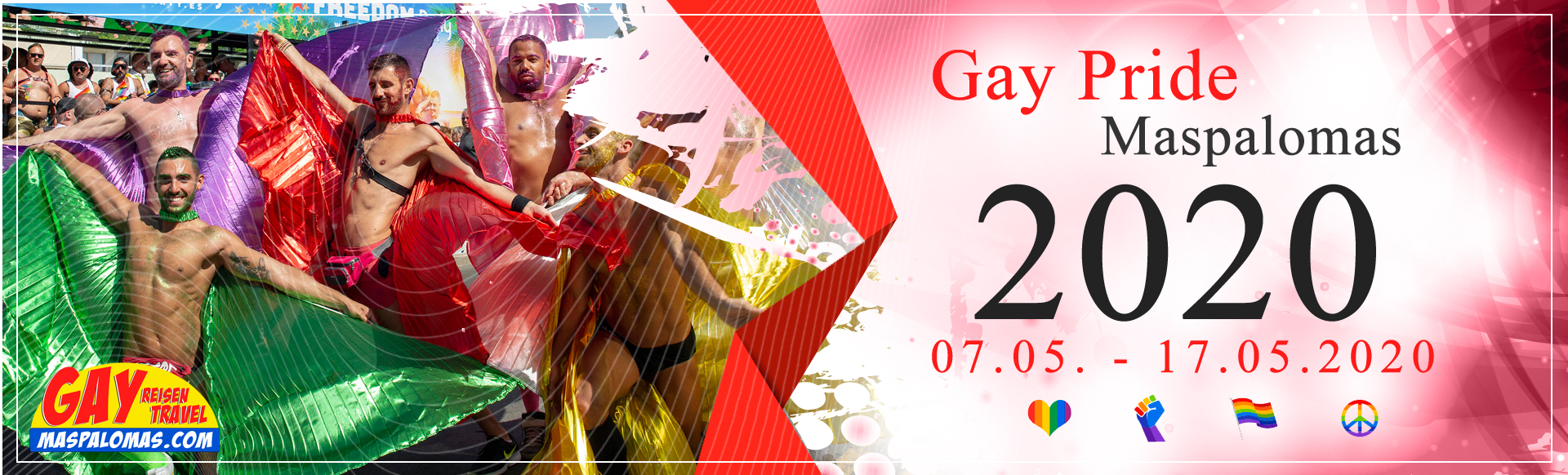 Top LGBT events in the Canary Islands for 12222